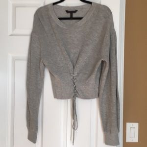 Grey BCBG sweater